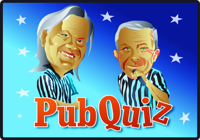 17:30 Vår populära Pub Quiz  med Palle & Steffo